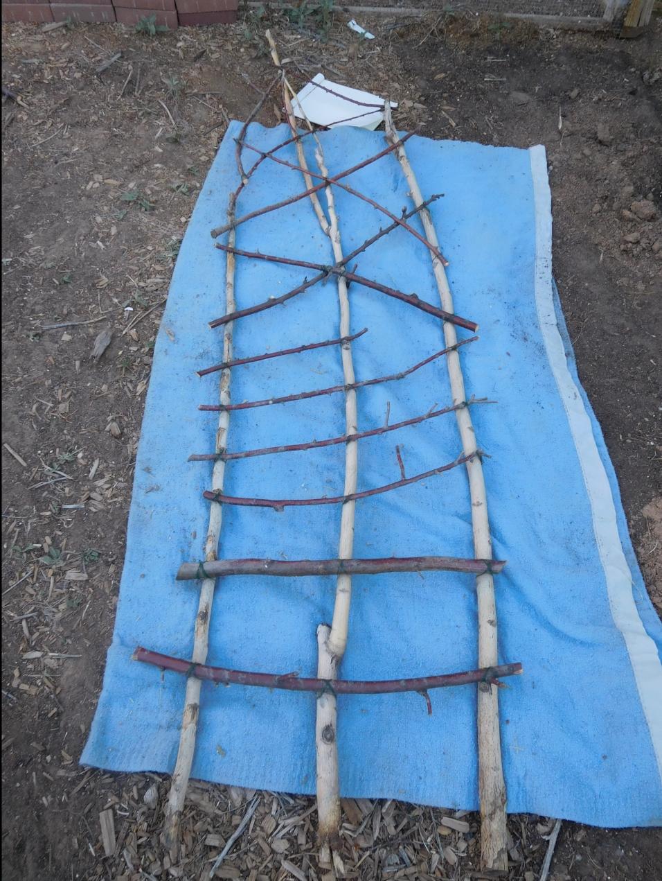 Trellis- Better Cross Pieces laid Out