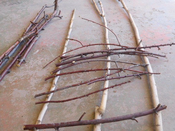 Trellis- Preparing Cross Pieces