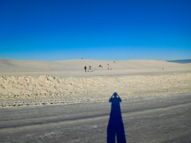 Long Shadow inthe Sand